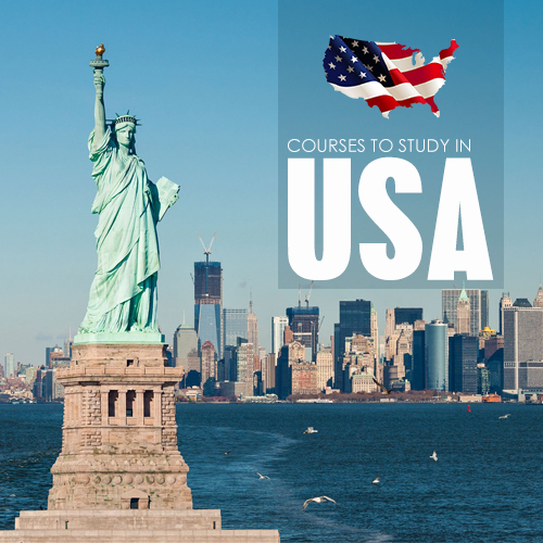 COURSES TO STUDY IN USA
