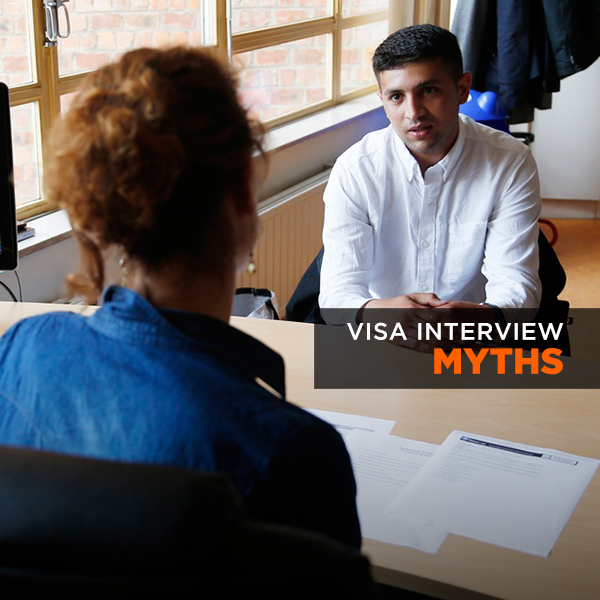Visa Interview-Myths