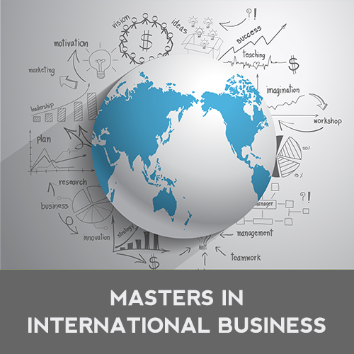 PURSUING A MASTER'S IN INTERNATIONAL BUSINESS