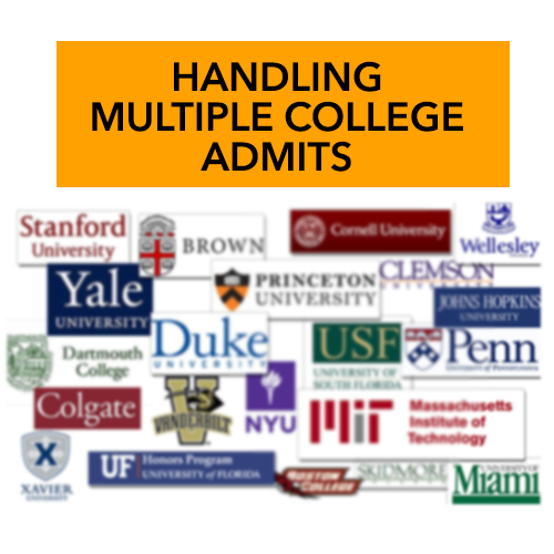 HANDLING MULTIPLE ADMITS!