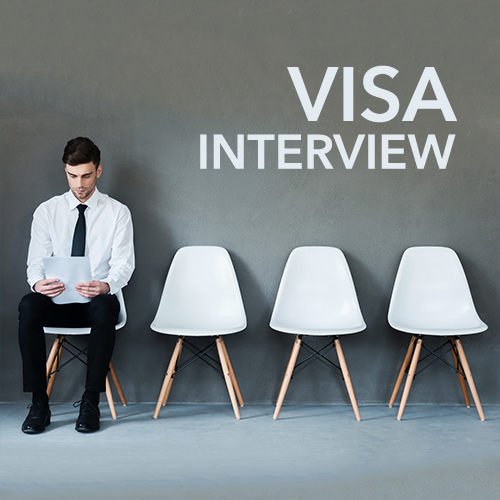 VISA INTERVIEW- The deciding moment!