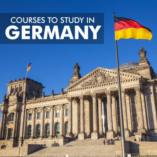 COURSES TO STUDY IN GERMANY