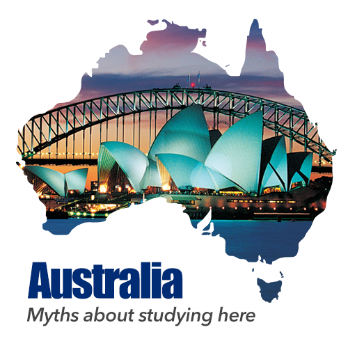 Australia – Myths about studying here.