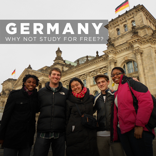 GERMANY – WHY NOT STUDY FOR FREE??