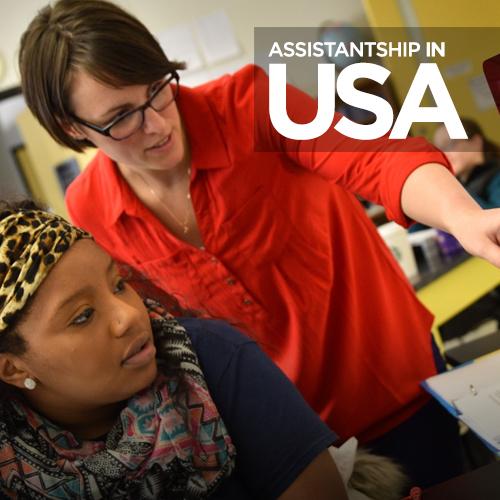 Assistantship in USA