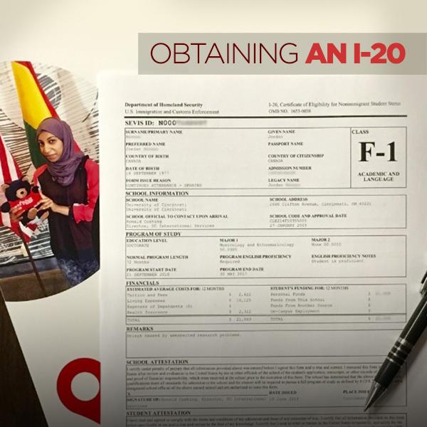 Obtaining an I-20