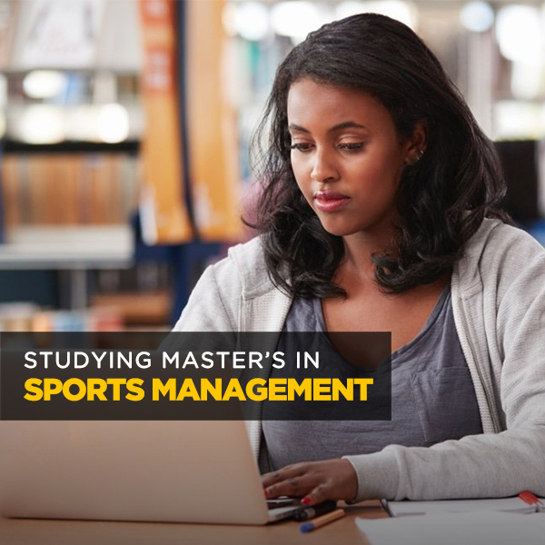 Studying Master's in Sports Management
