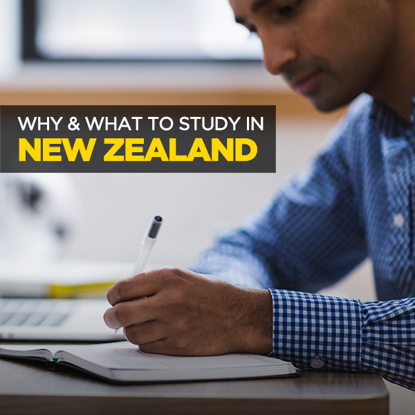 Why & What To Study in New Zealand?
