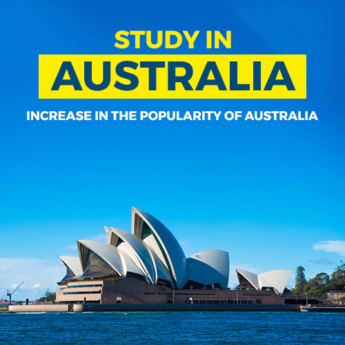 INCREASE IN THE POPULARITY OF AUSTRALIA FOR INDIAN STUDENTS AND THE REGIONAL BENEFITS