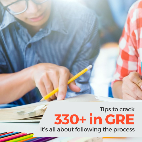 Tips to crack 330+ in GRE : It�s all about following the process